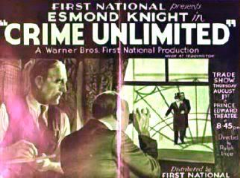Crime Unlimited 1935 DVD - Esmond Knight / Lilli Palmer